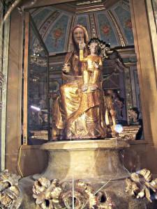 """La Vierge à l'enfant """"Notre Dame de Font-Romeu"""""""